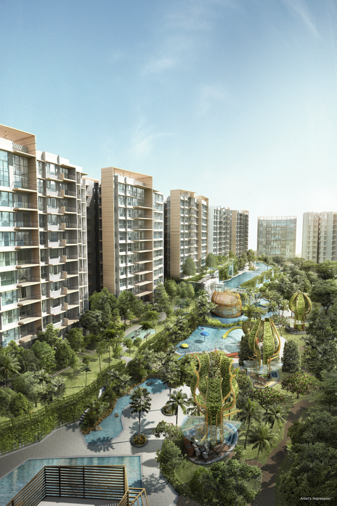 the glades location is a new Singapore property launch
