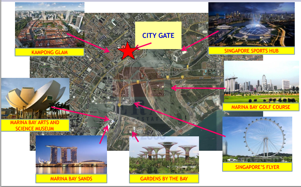 city gate amenities new launch property singapore