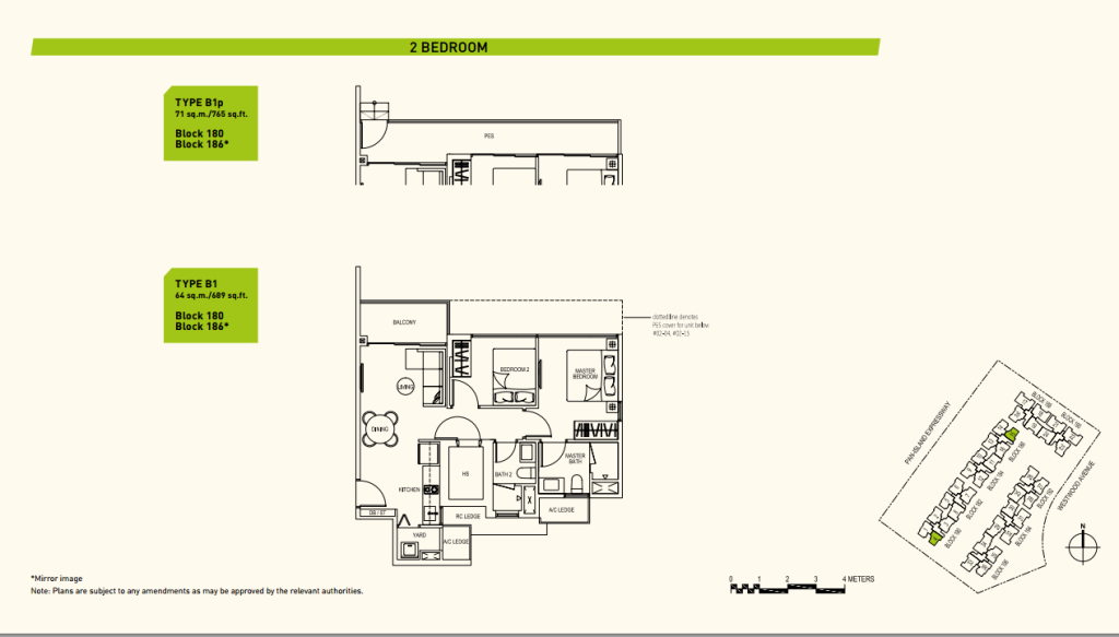 westwood residences 2 floor plans new launch property singapore