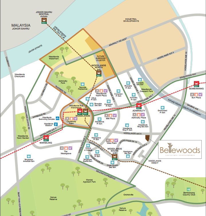 bellewoods ec location new launch singapore property