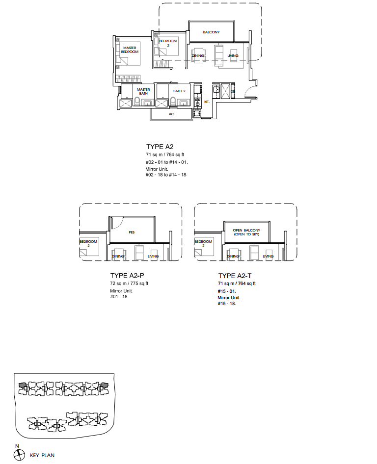 Vales ec floor plan A2 sg property new launch