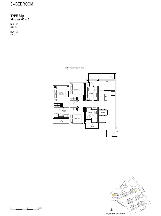 brownstone ec floor plans 3 B1p