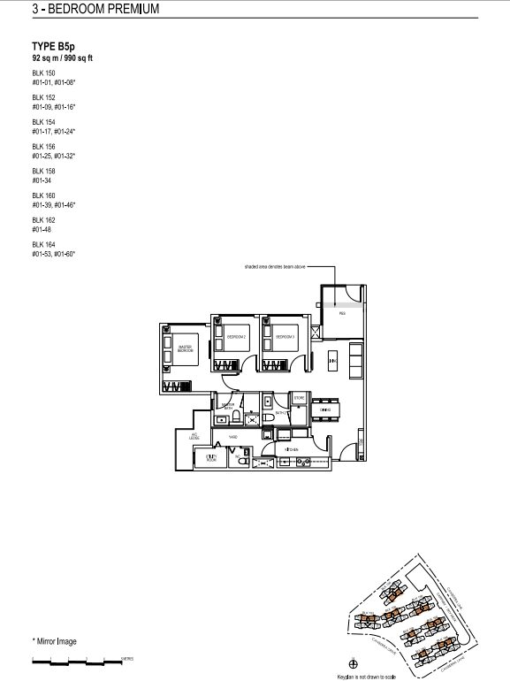 brownstone ec floor plans 3 B5p new ec launch