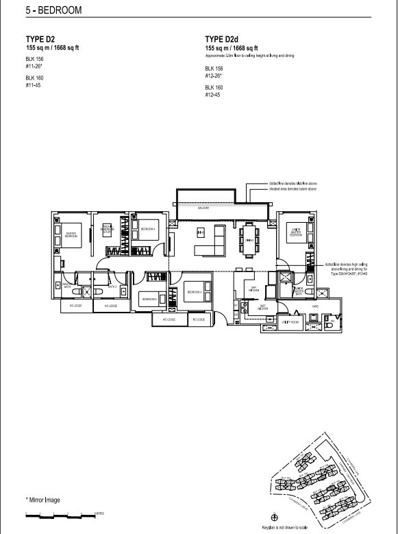 brownstone ec floor plans 5 D2 new exec condo