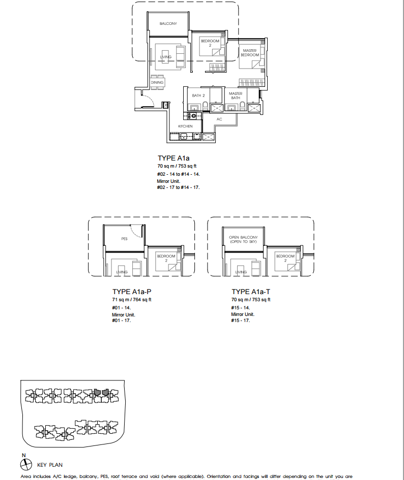 vales ec floor plan A1a new property launch singapore