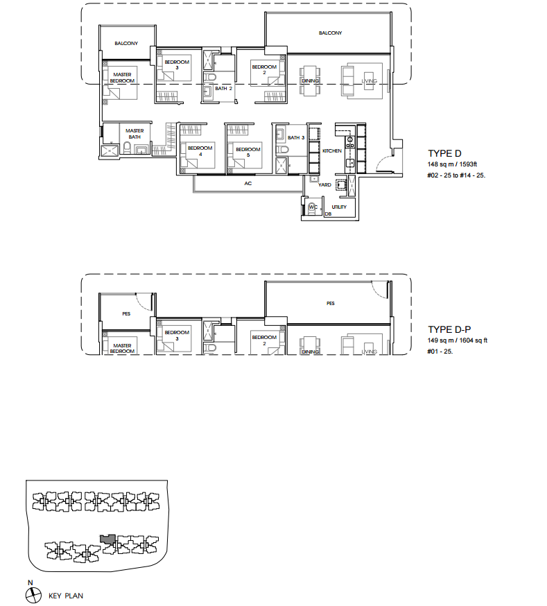 vales ec floor plan D new condo launch singapore
