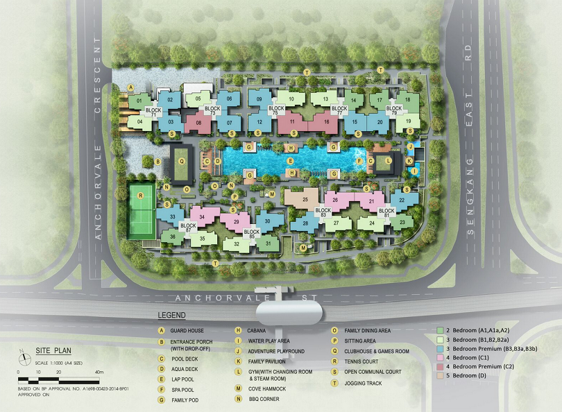 vales ec site plan new launch property singapore