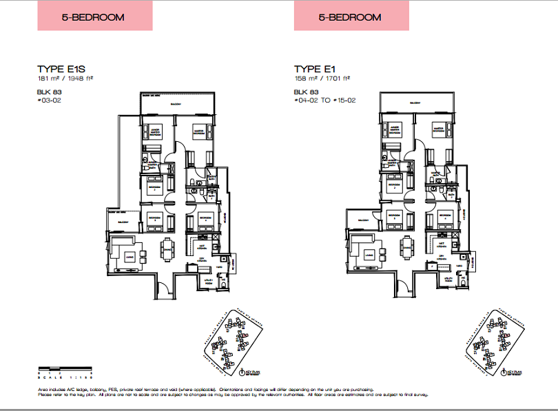 Vue 8 residence floor plans singapore property pick for 8 bedroom floor plans