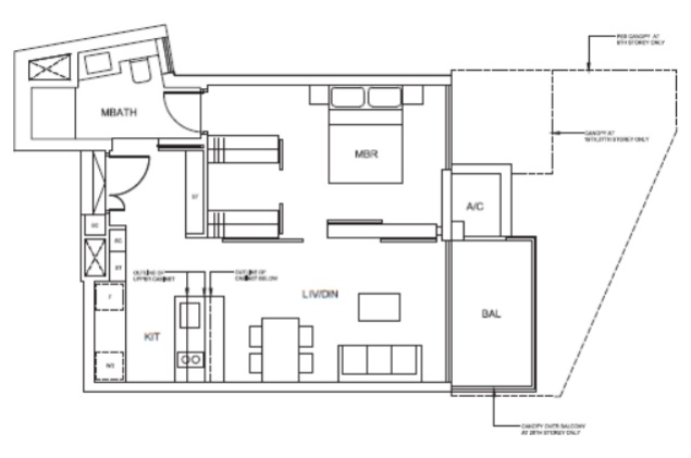 cairnhill nine floor plan A1